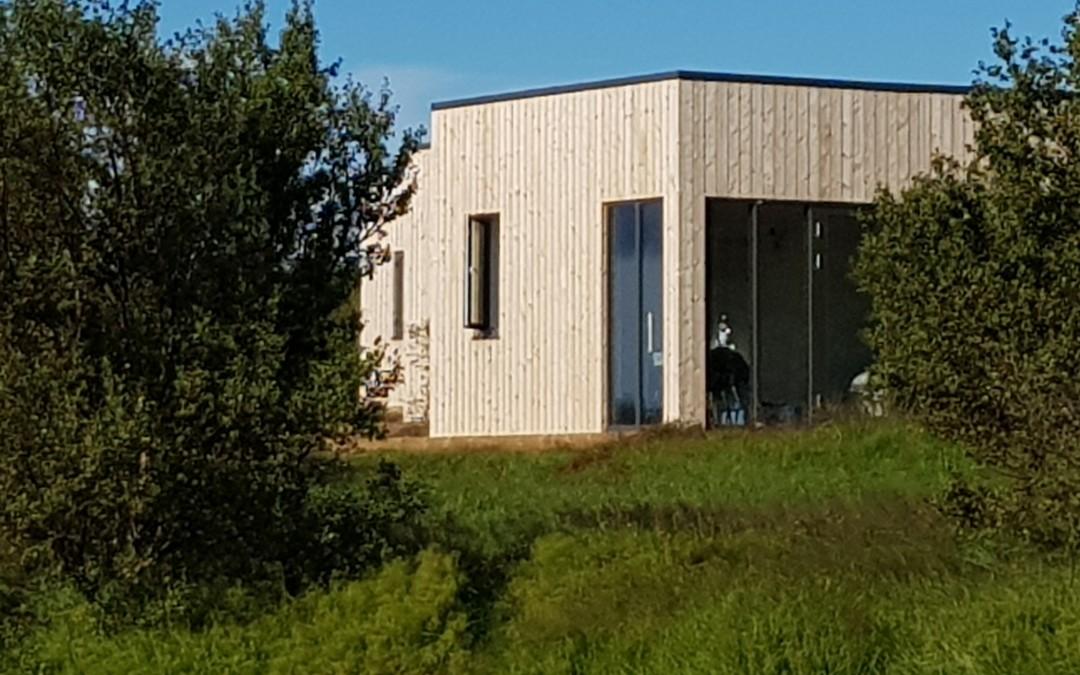 Jöklahús í Borgarfirði