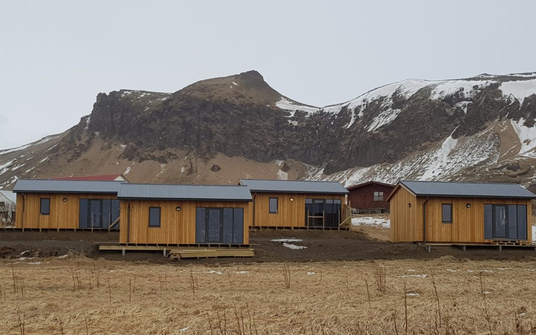 Starfsmannahús á Suðurlandi