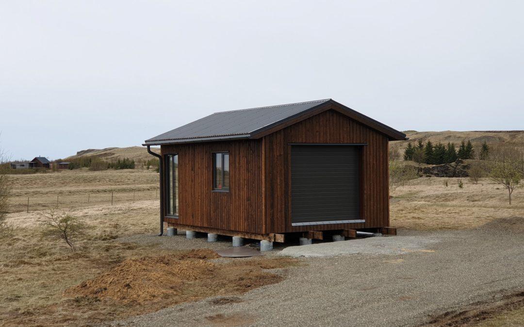 Bílskúr á Suðurlandi