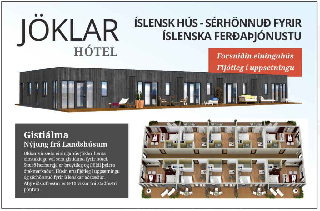 Jöklar - Hótel - Heimasíða